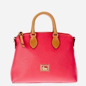 Dooney & Bourke Pink Leather Dillen Mini Satchel